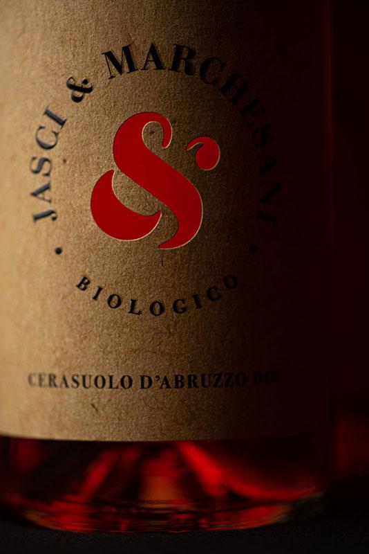 Particolare etichetta Cerasuolo d'Abruzzo DOC Jasci&Marchesani