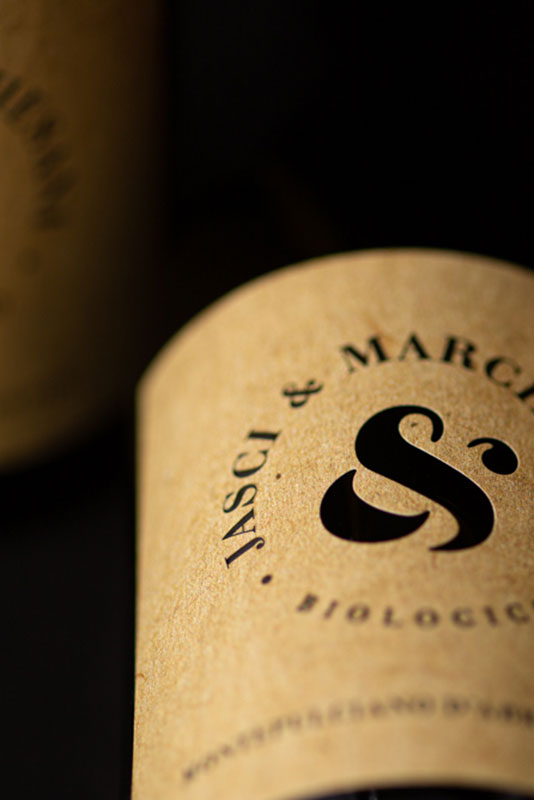 Particolare etichetta Montepulciano d'Abruzzo DOC Jasci&Marchesani