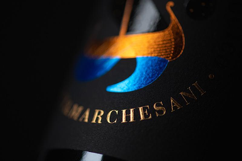 Particolare etichetta Janù Montepulciano d'Abruzzo DOC Jasci&Marchesani