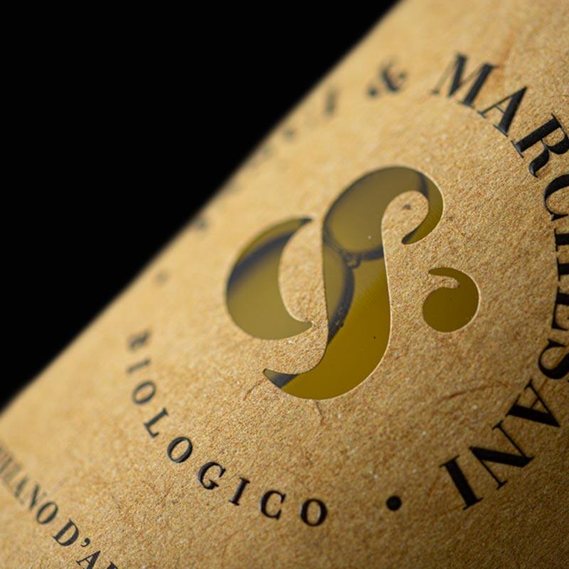 Particolare etichetta Trebbiano d'Abruzzo DOC Jasci&Marchesani