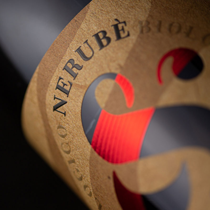 Particolare etichetta Nerubè Montepulciano d'Abruzzo DOC Jasci&Marchesani
